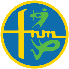FNM logo, largely inspired by the Alfa Romeo logo.