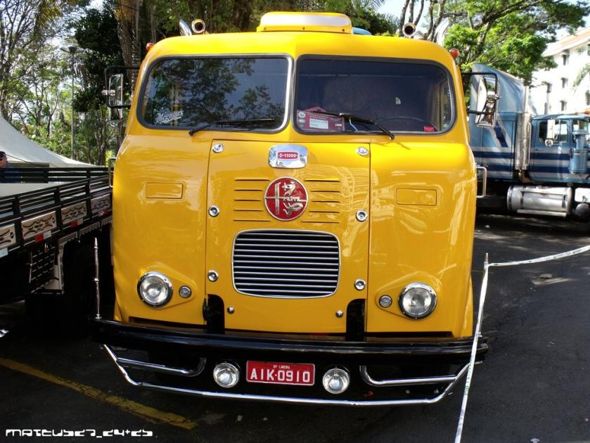 FNM TRUCK. Fábrica Nacional de Motores Brazilië