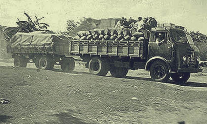FNM Truck met oplegger