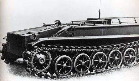 Teletanketka Borgward-IV (Sd.Kfz.301)a