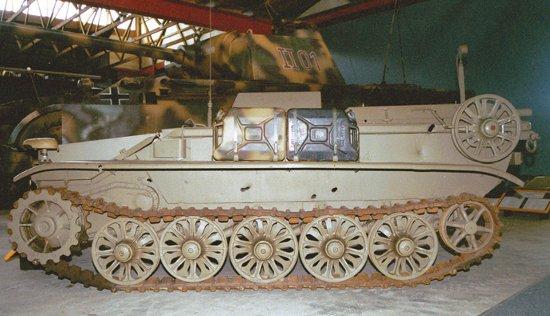 Teletanketka Borgward-IV (Sd.Kfz.301)c
