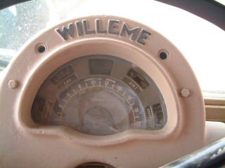 Willeme dashboard klok