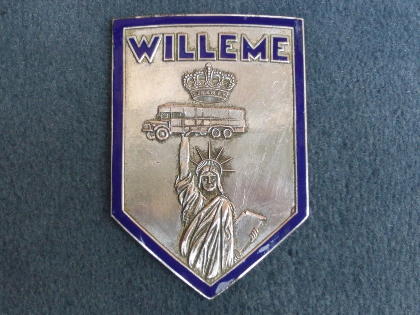 WILLEME France radiator insigne