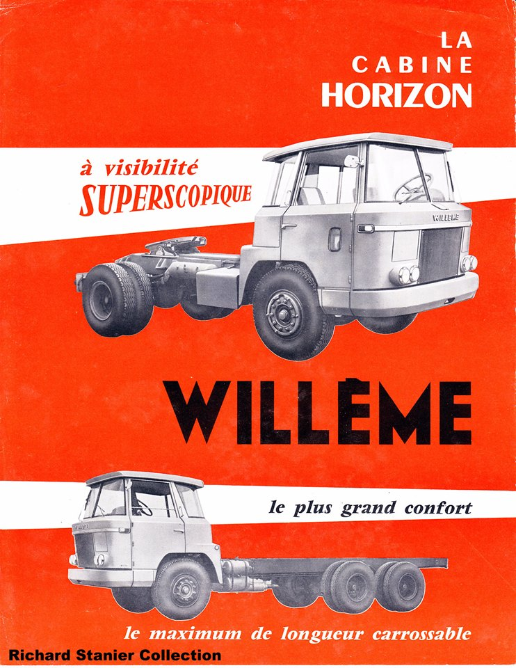 Willeme Horizon Cab Folder