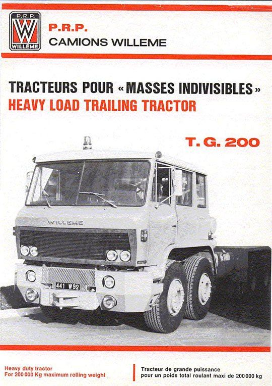 WILLEME TG 200 (France) ad