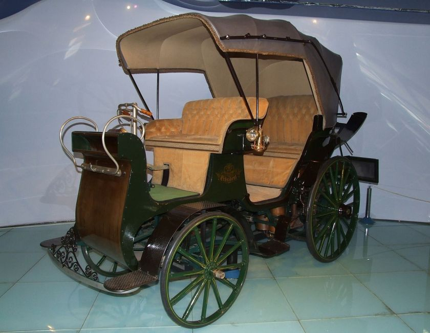 1897 NW Präsident replica in Tatra factory museum