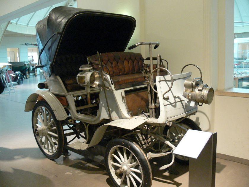 1900 Nesselsdorf model II vehicle