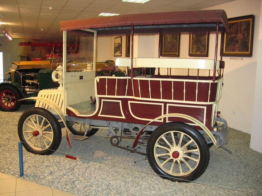 1901 NW type B (called Vicepresident), Taken in Technical museum Tatra in Kopřivnice, Czech Republic