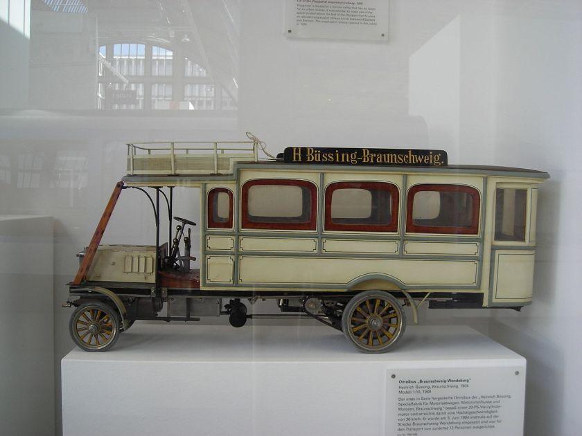 1904 Büssing Linienbusses von 1904
