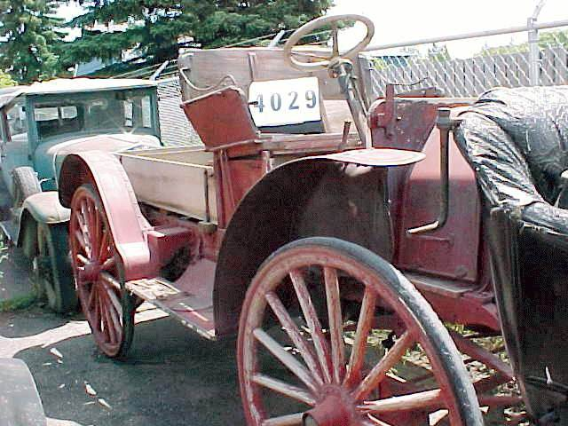 1908 International highwheel pickup