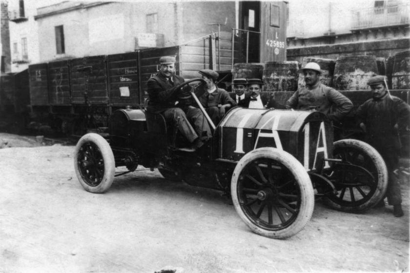 1908 Vincenzo Lancia Fiat Targa Florio 50hp