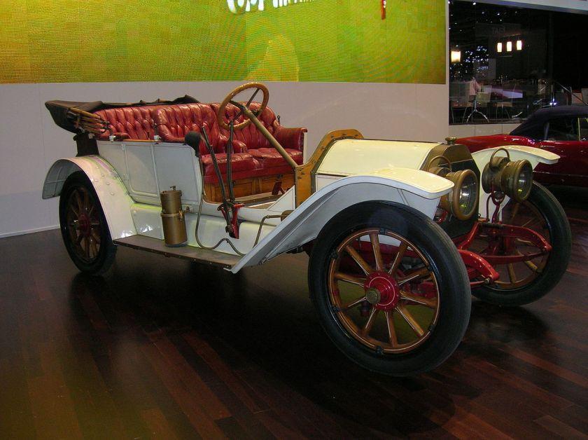 1909 Lancia Beta Torpedo 1520 HP 1909 -02