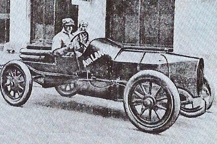 1910 Lancia di Billy Knipper, vittoriosa nel Tiedmann Trophy (1910)