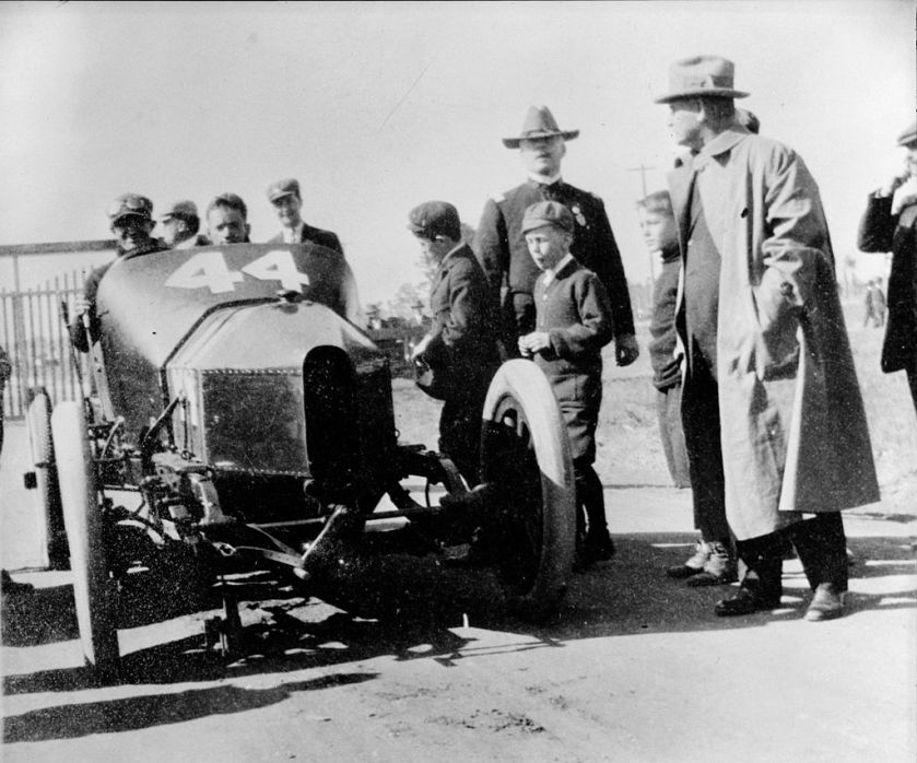1910 Lancia Light Car Race Savannah