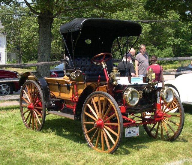 1911 International Harvester Auto Wagon