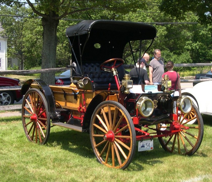 1911 International Harvester Auto Wagon