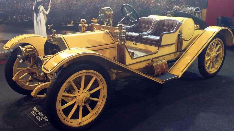 1911 Lancia Beta, gioiello da 10.500… lire