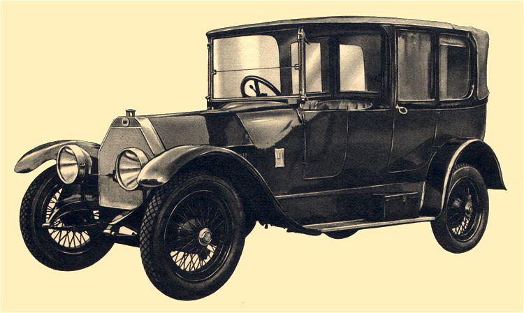 1911 lancia theta b