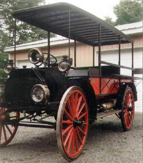 1912 international highwheel Peddlerswagon