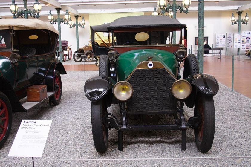 1912 Lancia Torpedo Type Epsilon Mulhouse FRA 001