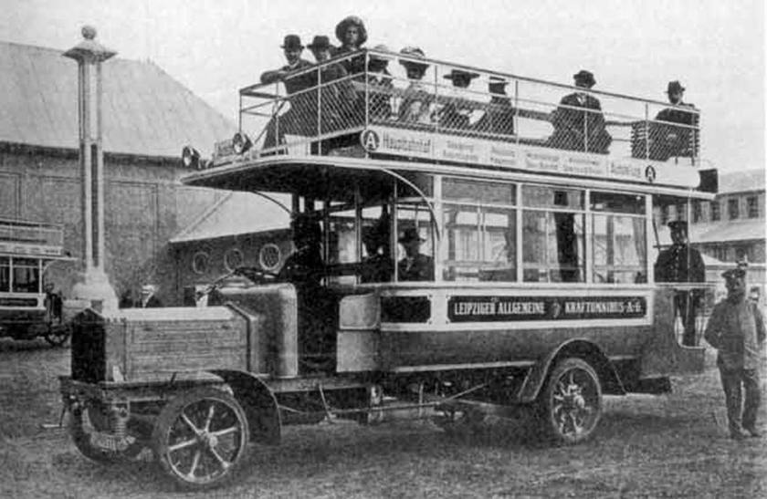 1914 Büssing double-deck