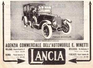 1915 Lancia ad