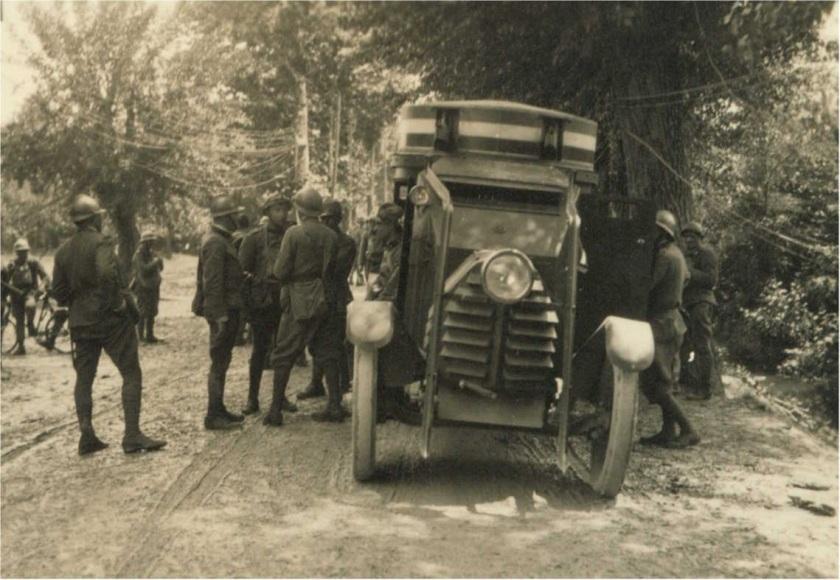 1916 Italian Ansaldo-Lancia 1Z armored car
