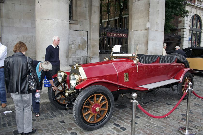 1917 Lancia Theta Torpedo