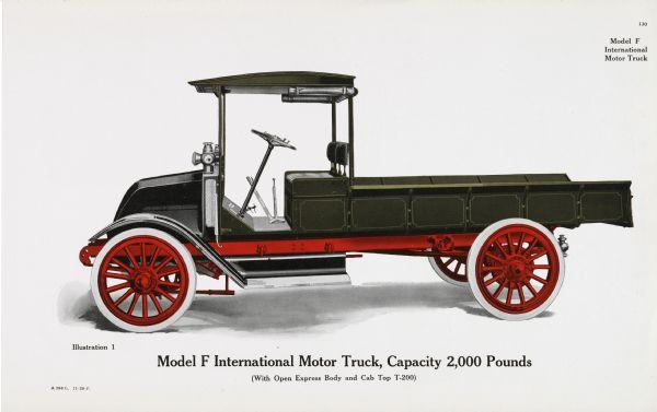 1917 Model F International Motor Truck