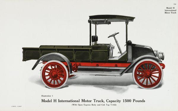 1917 Model H International Motor Truck