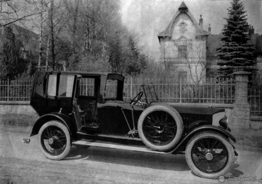 1917 Tatra 20 Nesselsdorfer Wagenbau-Fabriksgesellschaft type N or later known as Tatra 20