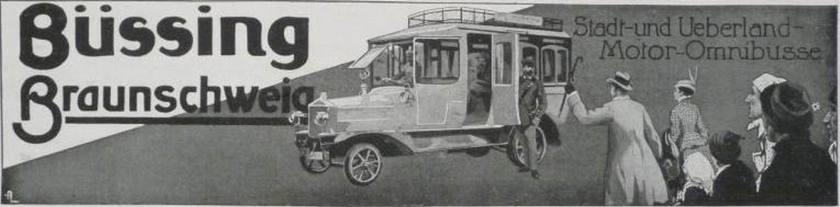 1918 Büssing 2V