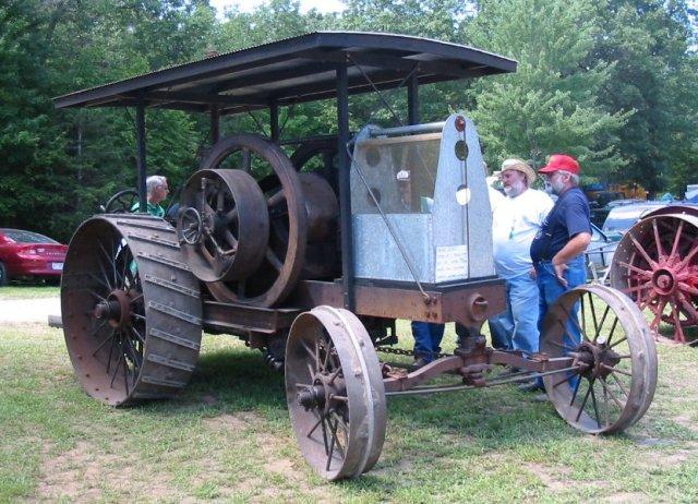1920 International Harvester tractor
