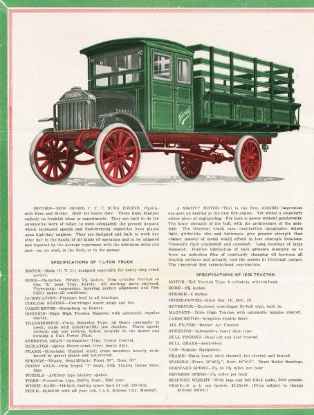 1920 Triumph Medium Weight Truck