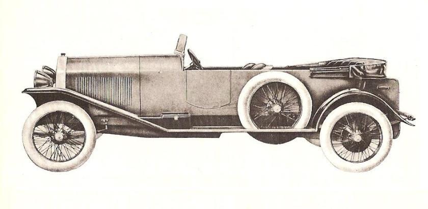 1921-22 Lancia Dikappa
