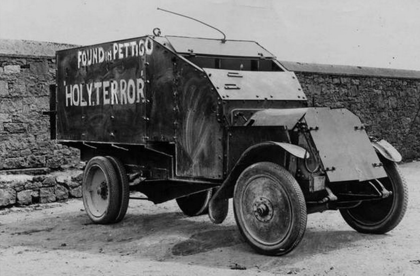 1921 Lancia Triota 1921 Armoured Truck captured from the British Forces by the IRA