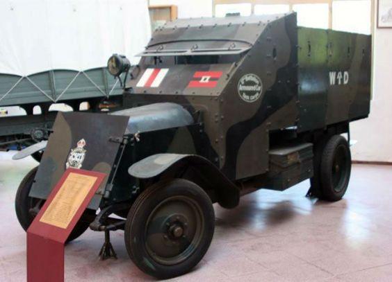 1921 Lancia triota armoured truck