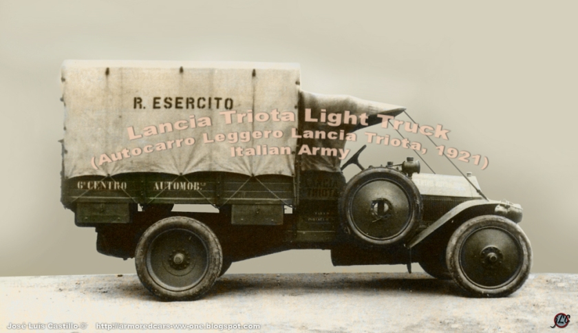 1921 Lancia-Triota-Light-Truck
