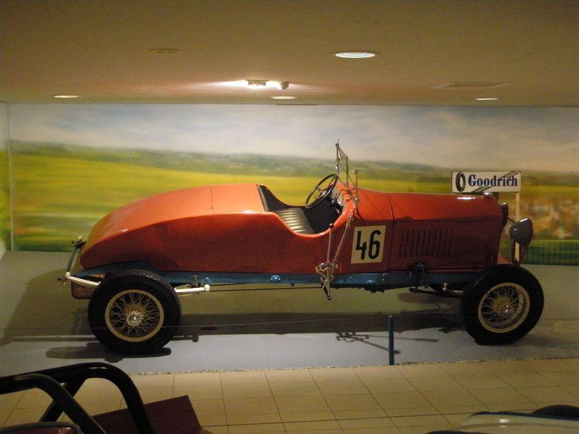 1921 Tatra 10 racecar (NW type U)