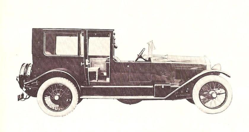 1922-25 Lancia Trikappa coupé de ville