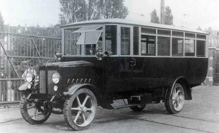 1922 Büssing, Braunschweig(D) (via A. Beers, 's-Gravenhage) - Lange & Gützeit, Berlijn(D)