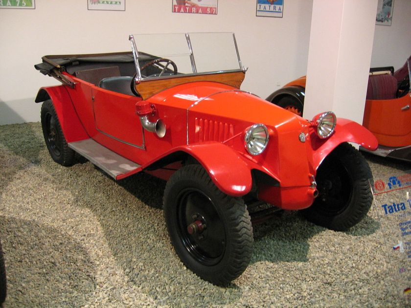 1923 Tatra T11 cabrio red