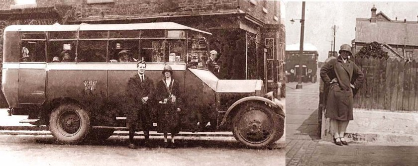 1925 Hemingway's Yellow Bus, [Lancia model] High St, Skelton