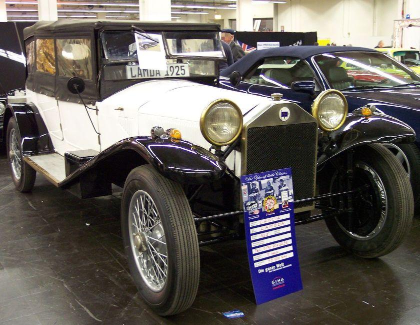 1925 Lancia Lambda white vr TCE