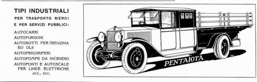 1925 LANCIA PentaIota