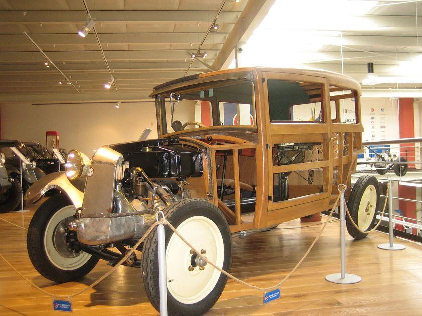 1926 Tatra 12 carrossery