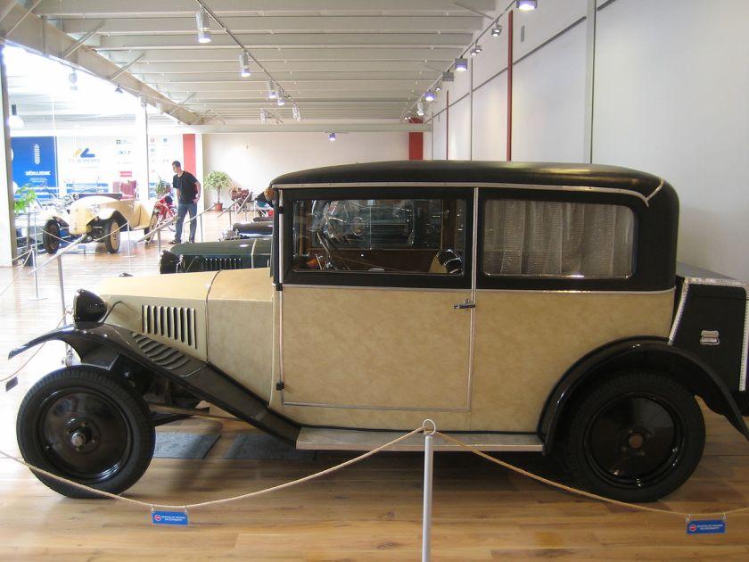1926 Tatra 12 Wayman carrossery