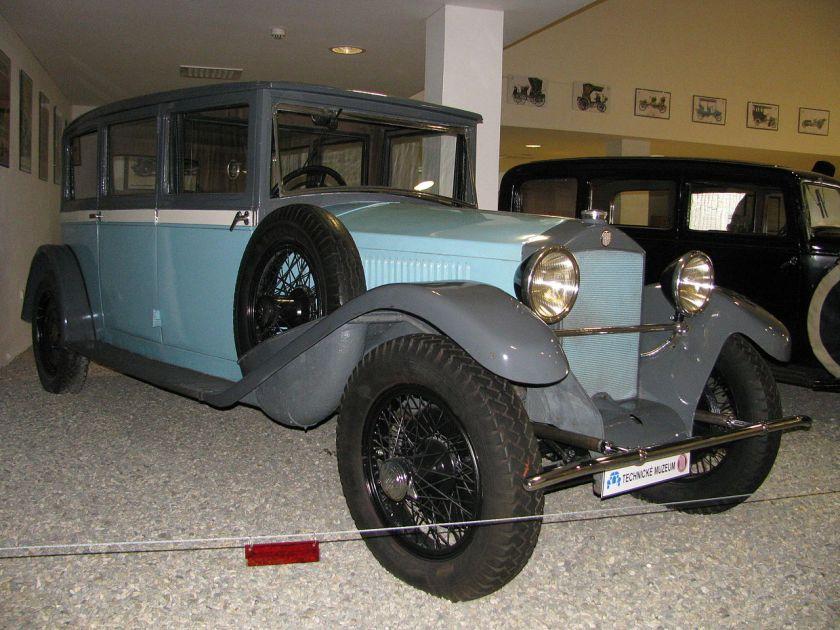 1926 Tatra T17,30