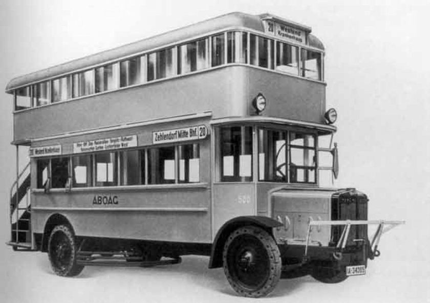 1927 Büssing Double-Deck