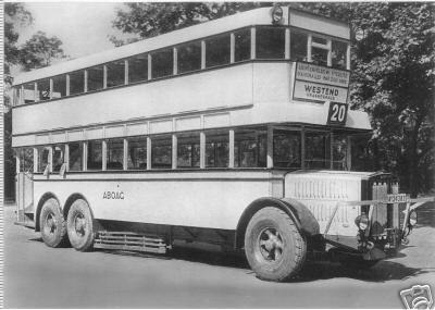 1927 Büssing Krupp bus 20 Berlin